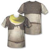 Shrek - Costume Tee (Front/Back Print) T-shirts