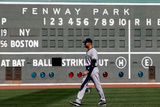 Sep 27, 2014: Boston, MA - New York Yankees v Boston Red Sox - Derek Jeter Photographic Print by Jim Rogash