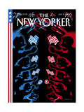 The New Yorker Cover - July 5, 2004 Regular Giclee Print by Christoph Niemann