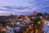San Miguel De Allende at Dusk Photographic Print by Jeremy Woodhouse