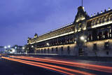 National Palace at Night Photographic Print by Darryl Leniuk