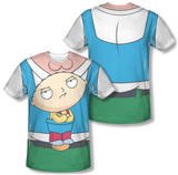 Family Guy - Stewie Carrier Costume Tee (Front/Back Print) Sublimated
