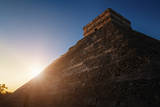 Sunrise at Chichen Itza, Mexico Photographic Print by Bjorn Holland