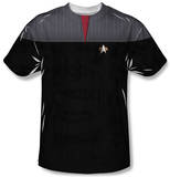 Youth: Star Trek - Command Uniform Costume Tee T-shirts