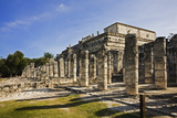 Chichen Itza Showing the Colonnades, Yucatan Peninsula of Mexico Photographic Print by David Davis