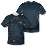 Youth: Battlestar Galactica - Duty Blue (Front/Back Print) Kleding