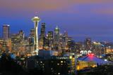 Seattle Skyline Photographic Print by Tom Schwabel
