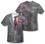 Youth: The Dark Knight - Two Face Costume Tee (Front/Back Print) T-shirts