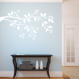 Simplicity Branch White Wall Decal