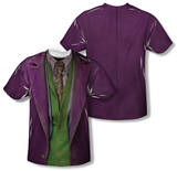 Youth: The Dark Knight - Joker Costume Tee (Front/Back Print) Vêtement