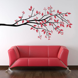 Simplicity Branch Large Black Wall Decal
