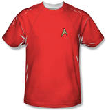Youth: Star Trek - Red Shirt Costume Tee T-shirts