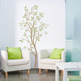 Simplicity Branch Large Brown Wall Decal