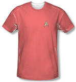 Star Trek - Red Shirt Costume Tee Sublimated