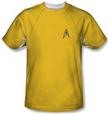 Youth: Star Trek - Command Uniform T-Shirt