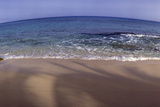 Panoramic Fisheye View of an Ocean and Beach Photographic Print by James Gritz