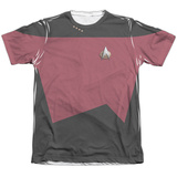 Star Trek - Command Uniform Costume Tee T-shirts