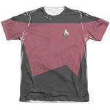 Star Trek - Command Uniform Costume Tee Sublimated