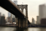 Brooklyn Bridge, New York City Photographic Print by Photography by Steve Kelley aka mudpig