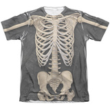 Skeleton Costume Tee Sublimated