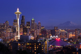 Seattle Christmas Photographic Print by  DDeJesus