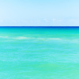 Mexico, Yucatan, Seascape with Blue Sky Photographic Print by Tetra Images