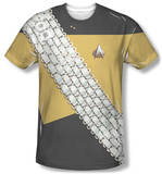Star Trek - Worf Uniform Costume Tee T-Shirt