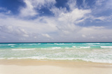 Mexico, Quintana Roo, Yucatan Peninsula, Cancun, Scenic View of Sea Photographic Print by Bryan Mullennix