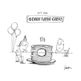 It's the Ozone Layer Cake! - Cartoon Premium Giclee Print by Mary Lawton