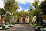 Facade of an Octagonal Chapel, Plaza De La Concepcion, Mexico City, Mexico Photographic Print by Glow Images