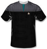 Youth: Star Trek - Science Uniform Costume Tee T-shirts