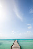 Tropical Pier Photographic Print by M Swiet Productions