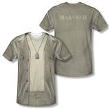 M.A.S.H. - Hawkeye Costume Tee (Front/Back Print) Shirts