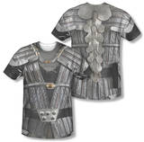 Star Trek - Klingon Uniform Costume Tee (Front/Back Print) T-Shirts