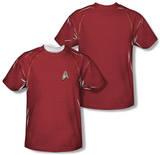 Star Trek - Engineering Uniform Costume Tee (Front/Back Print) Sublimated
