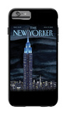 The New Yorker - Rhapsody in Blue - iPhone 6 Plus Case iPhone 6 Plus Case by Mark Ulriksen