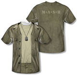 M.A.S.H. - Hawkeye Costume Tee (Front/Back Print) T-Shirts