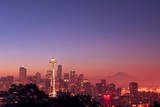 Seattle at Dawn Photographic Print by David Hogan
