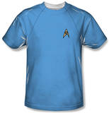 Youth: Star Trek - Science Uniform Costume Tee Shirts