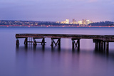 Calm Night on Lake Washington Photographic Print by Aaron Eakin