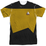 Star Trek - Engineering Uniform Costume Tee Vêtements
