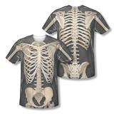 Skeleton Costume Tee (Front/Back Print) Vêtement