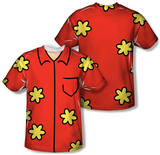 Family Guy - Quagmire Costume Tee (Front/Back Print) Vêtements
