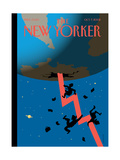 The New Yorker Cover - October 7, 2002 Regular Giclee Print by Christoph Niemann