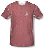 Star Trek - Engineering Uniform Costume Tee Shirt