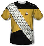 Star Trek - Worf Uniform Costume Tee Vêtement