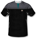 Star Trek - Science Uniform Costume Tee T-Shirt
