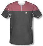 Star Trek Voyager - Command Uniform Costume Tee Vêtement