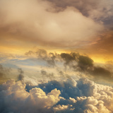 High Altitude Sunset Cloudscape Photographic Print by John Lund