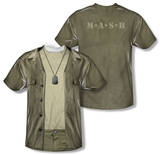 Youth: M.A.S.H. - Hawkeye Costume Tee (Front/Back Print) Shirt